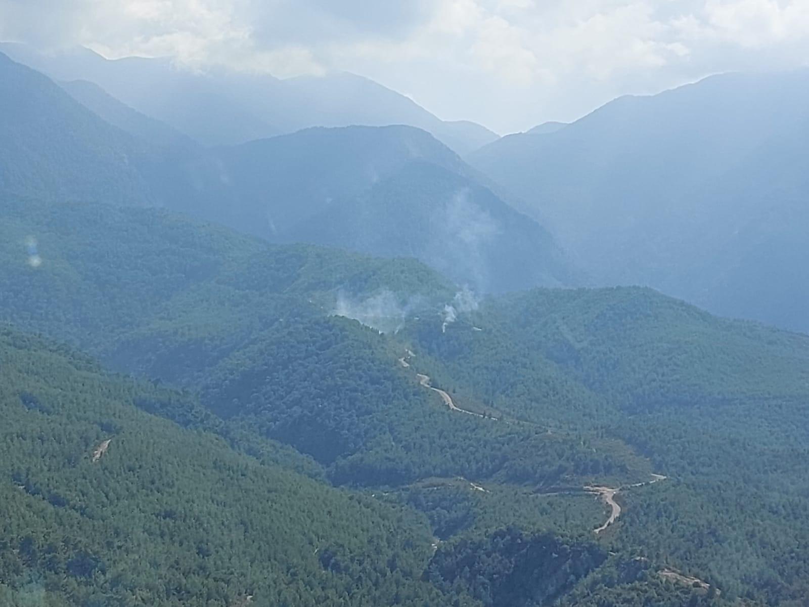 Hatay'da 8 farklı noktada orman yangını: 1 gözaltı