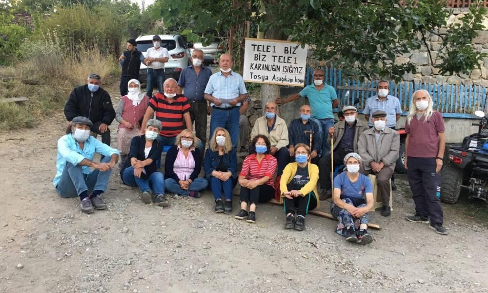 Umudumuz yeşerdi… Aşağıkayı Köyü'nde yurttaşlar TELE1 için seslerini yükseltti