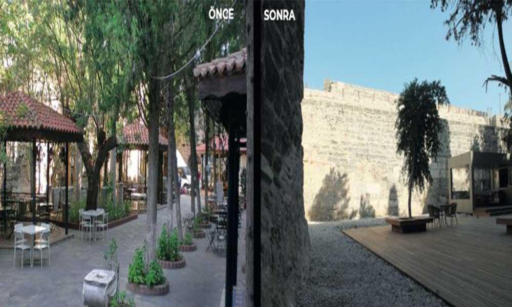 Bodrum Kalesi ziyarete açıldı: O güzelim kalede ne ağaç, ne havuz, ne de müze kaldı