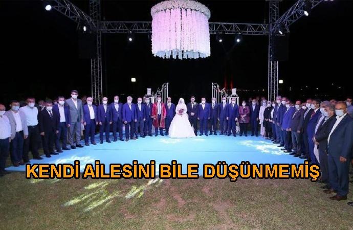 Şatafatlı düğün yapan AKP'li vekilin dayısı koronavirüsten öldü