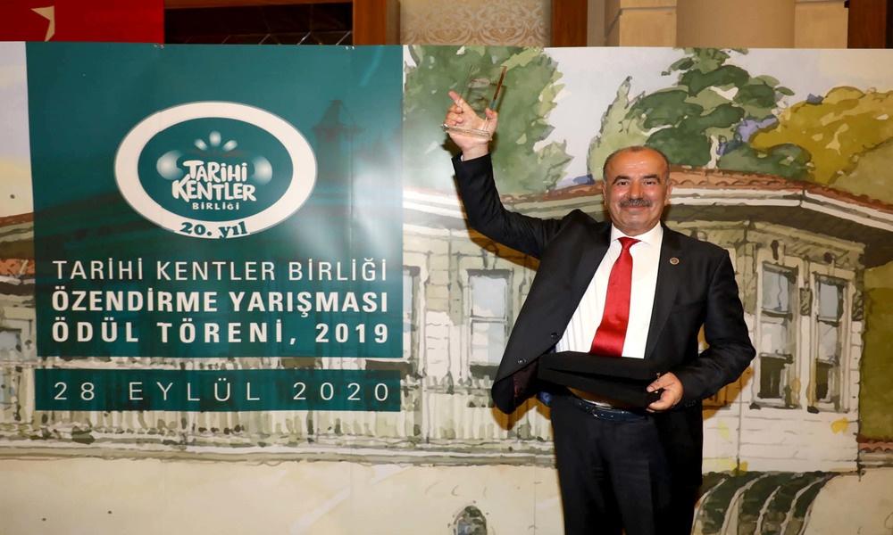 Tarihi Kentler Birliği Süreklilik ödülü Mudanya'nın