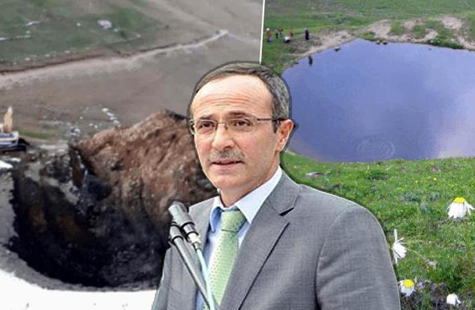 Dipsiz Göl'ün yok edilmesini onaylamıştı… Kurban keserek göreve döndü