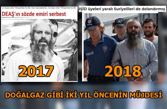 Soylu'nun 'tutuklandı' diye duyurduğu IŞİD'in Türkiye emiri, daha önce de yakalanıp serbest bırakıldı!