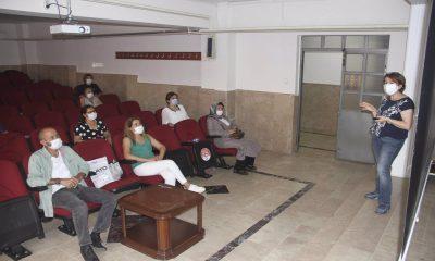 Kartal Belediyesi personeline hijyen eğitimi
