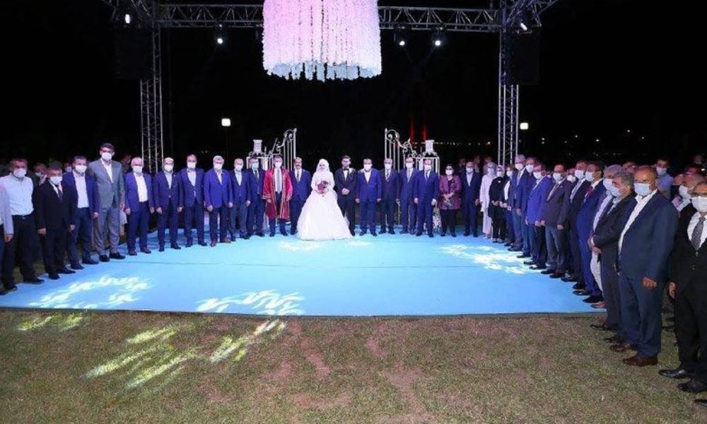 AKP'li vekilin 1500 kişilik düğününe ceza kesilmişti! Cezayı kesen kaymakam da düğüne katılmış