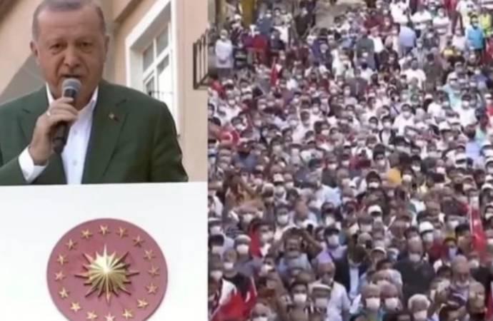 Bakan Koca, Giresun'daki görüntülerden vatandaşı sorumlu tuttu: Cumhurbaşkanımız gayret içinde