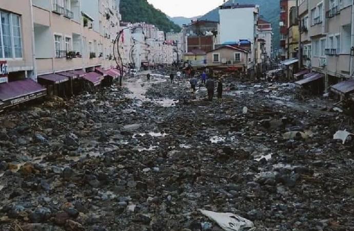 Giresun'daki sel felaketinde 1 kişinin daha cansız bedenine ulaşıldı