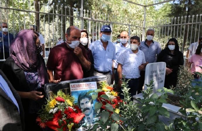DEP Milletvekili Mehmet Sincar, mezar başında anıldı