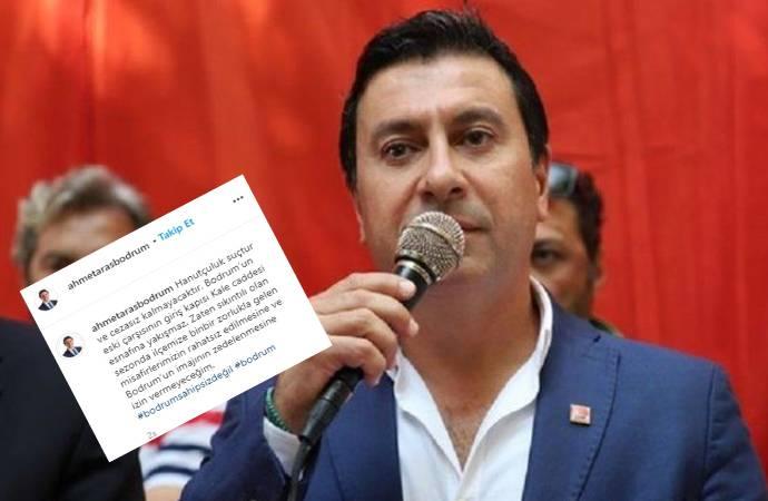 Bodrum Belediye Başkanı'ndan hanutçulara savaş