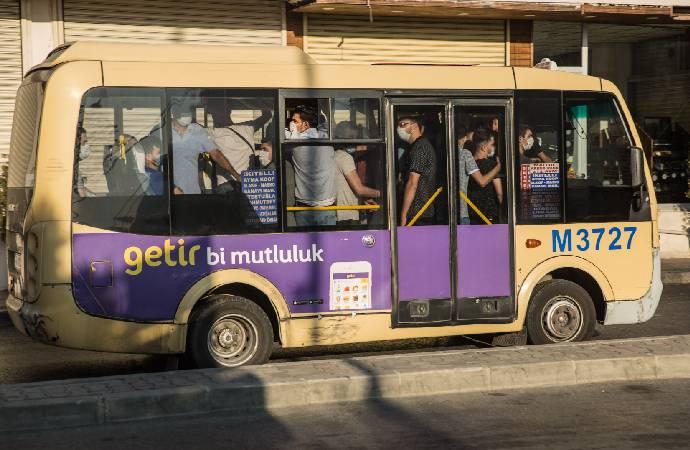 Erdoğan, 'Ayakta yolcu alınmayacak' demişti; otobüs ve minibüsler tıklım tıklım