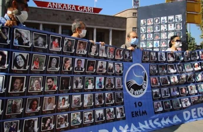 10 Ekim Ankara Katliamı'nda yaşamını yitirenler anıldı