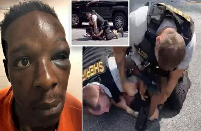 ABD'de siyah adamı yere yatırıp defalarca yumruklayan polis görevden alındı