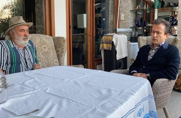 Tuzla Belediye Başkanı, Halil Sezai darp ettiği Hüseyin Meriç'i ziyaret etti