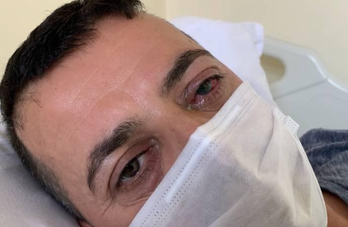 Darp edilen sağlık çalışanı: Sol gözüm görmüyor
