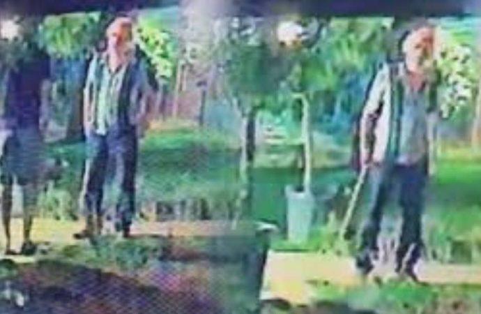 Halil Sezai tarafından darp edilmişti! 'Baltalı' görüntülerini yalanladı