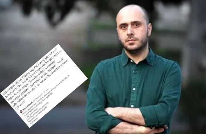 Gazeteci Eylem Emel Yılmaz: Yıldıray Oğur, bir haber üzerine beni arayıp tehdit etti