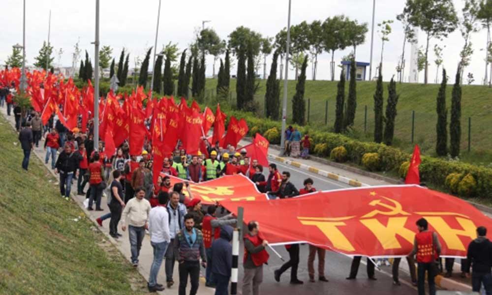 AKP'li Cumhurbaşkanı Erdoğan'a serbest, komünistlere yasak!