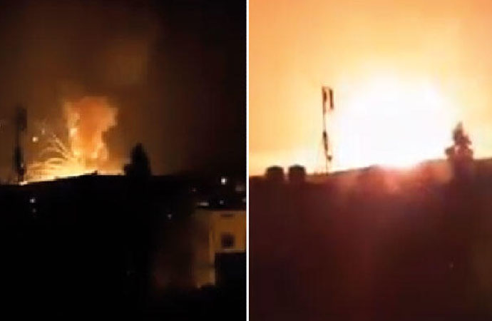 Ürdün'de askeri bölgede patlama!
