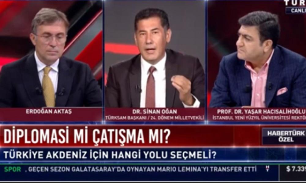 Canlı yayında gergin anlar! Oğan ve AKP'li Hacısalihoğlu arasında tansiyon yükseldi