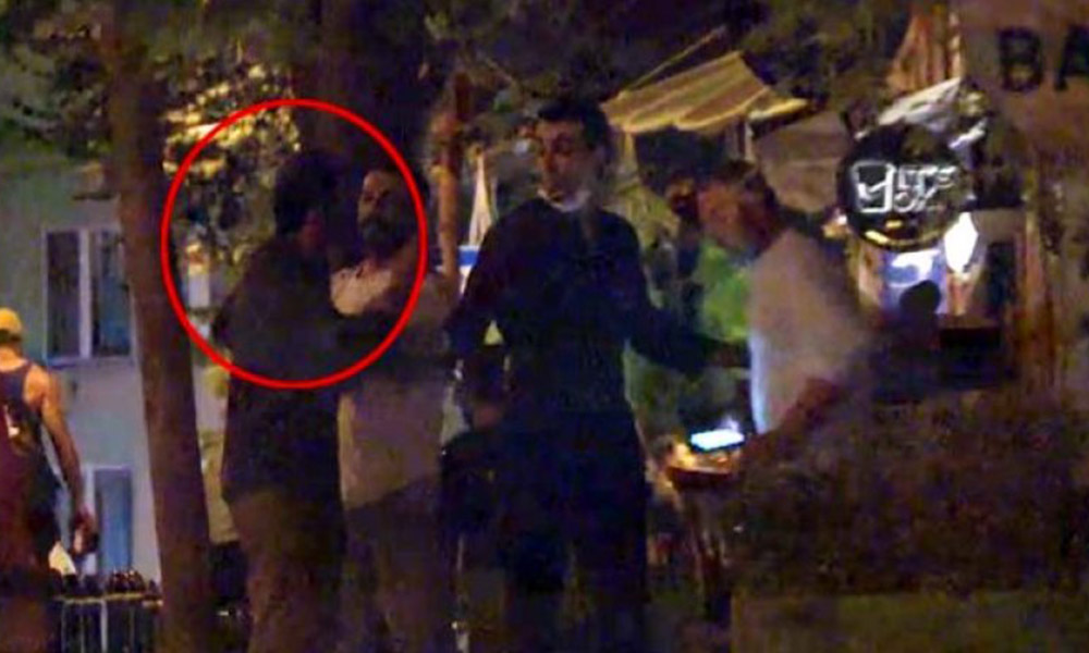 Ufuk Bayraktar'ın olaylı gecesi! Gazetecilerin üzerine yürüdü