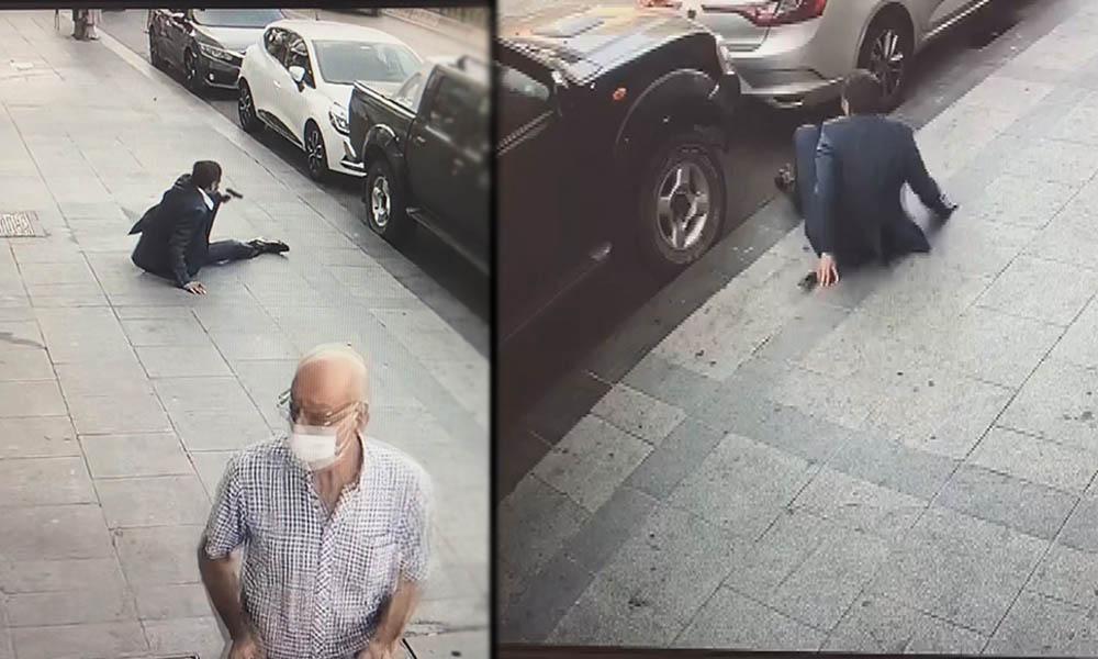 Eski Ülkü Ocakları yöneticisine sokak ortasında silahlı saldırı!