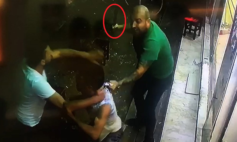 16 yaşındaki genci satırla yaralayan saldırgandan kan donduran tehdit!