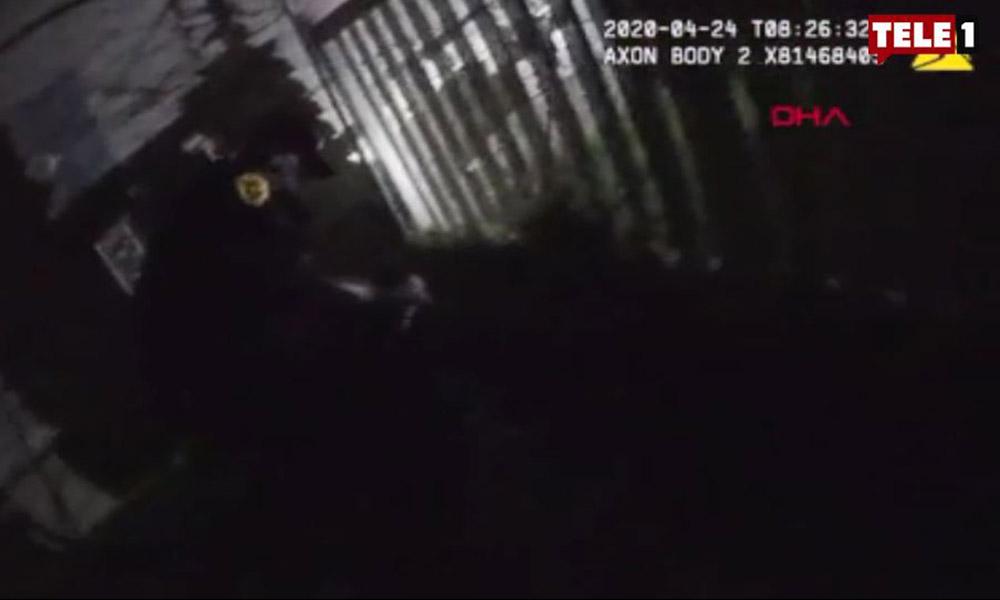 Polis şiddeti bitmek bilmiyor! Teslim olan adamın üzerine köpeği saldılar