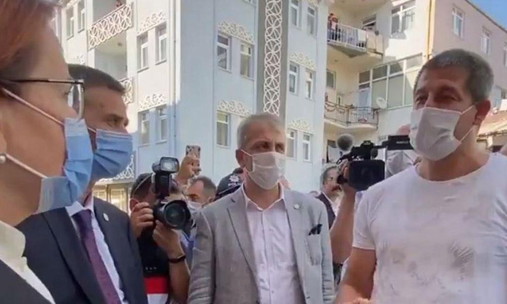 Yurttaşın Akşener'e isyanı: 'Ekmeğimle oynamayın' dedim, 'AKP'ye üye ol' dediler