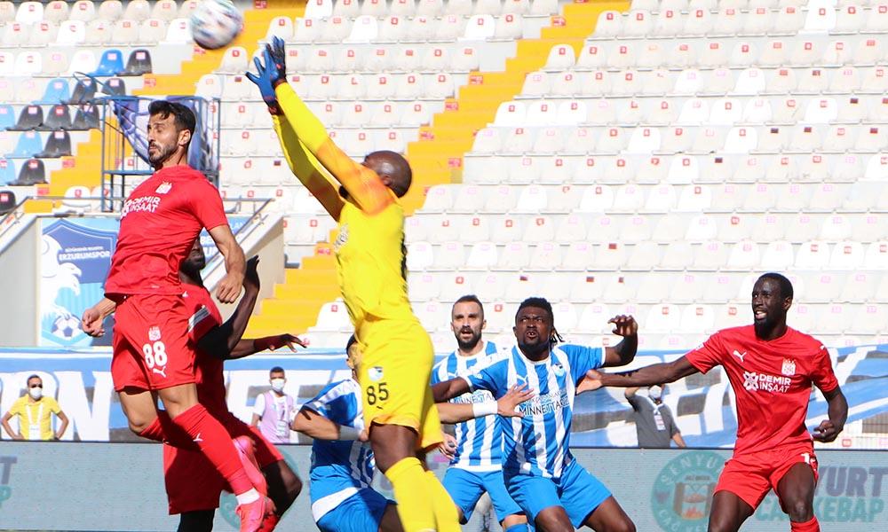 Sivasspor geriden gelip Erzurumspor'u mağlup etti