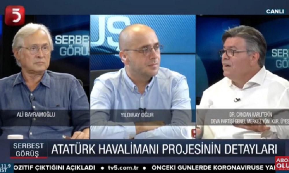 Eski THY Başkanı Karlıtekin'den pes dedirten 3. Havaalanı itirafı!