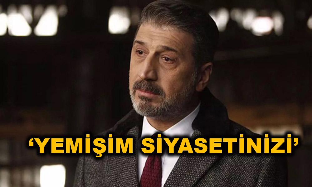 Tanınmış oyuncu Cem Davran isyan etti!