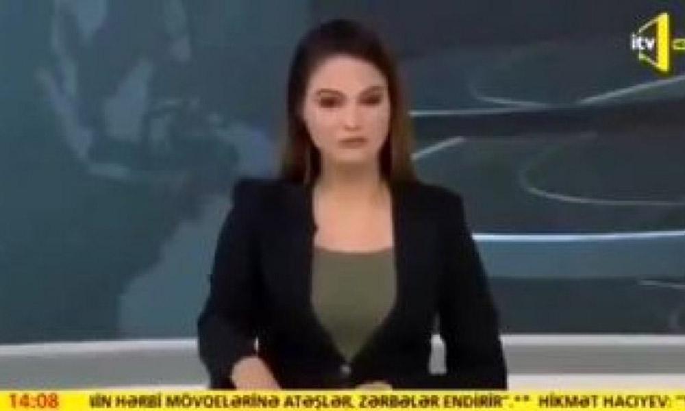 Canlı yayında gözyaşlarına hakim olamamıştı! Azerbaycanlı spiker o anları anlattı