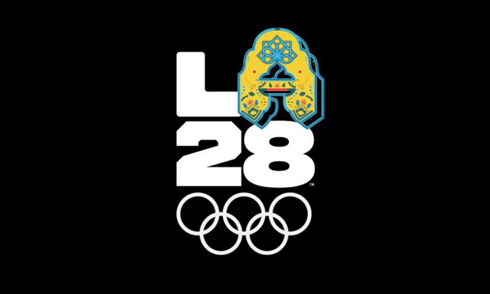 Los Angeles 2028 Yaz Olimpiyatları'ndan dinamik logo