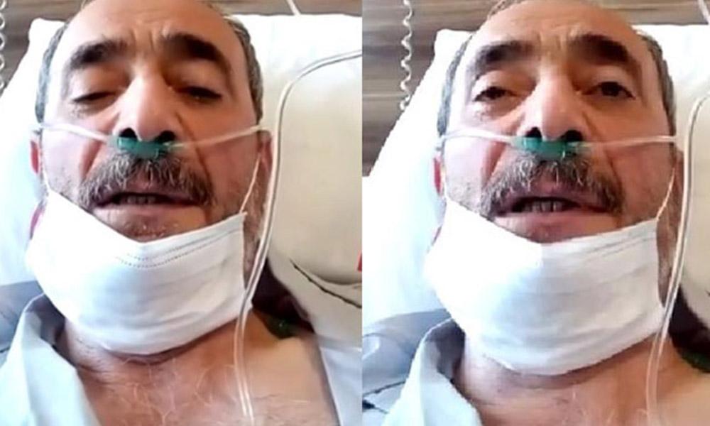 Koronavirüsten ölen vatandaşın ölmeden önceki son videosu: Ben geç kaldım, siz kalmayın