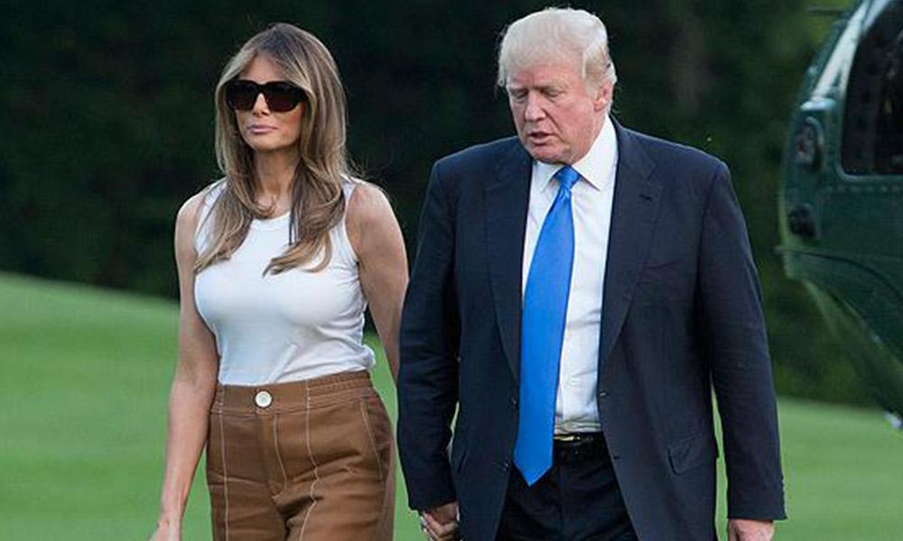 ABD Başkanı Trump'tan eşi Melania'ye şoke eden sözler!