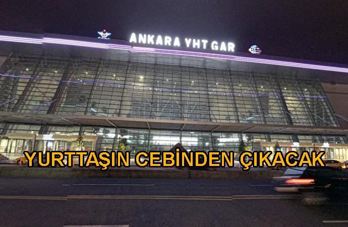 Kullanılmayan gar için AKP'nin gözdelerine milyonlarca lira ödenecek!