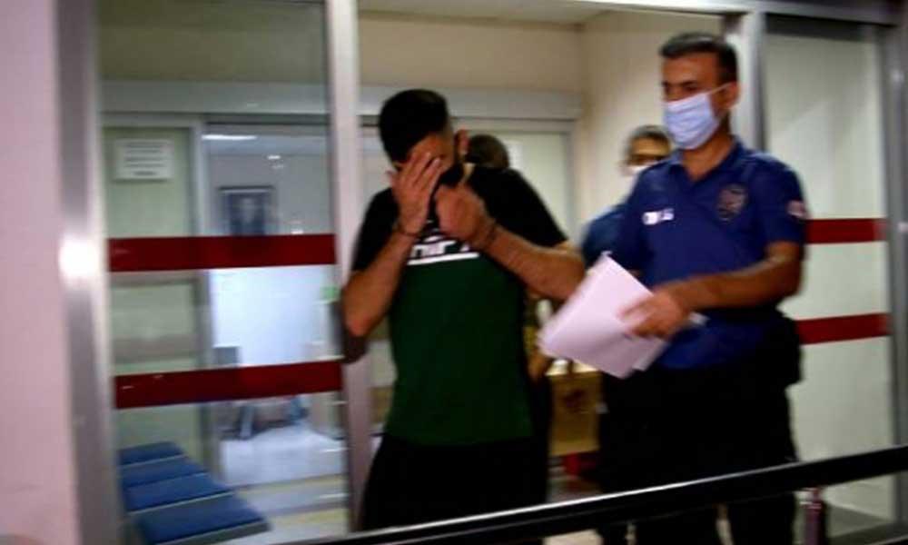 Kız arkadaşın darbedip balkondan sarkıtan kişi yakalandı