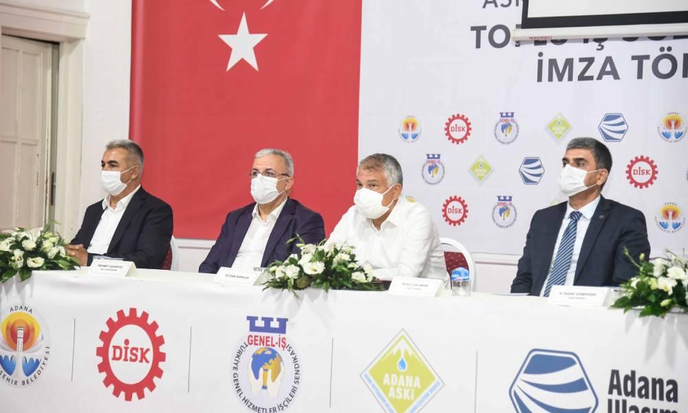 DİSK ve Adana Belediyesi arasında toplu iş sözleşmesi imzalandı