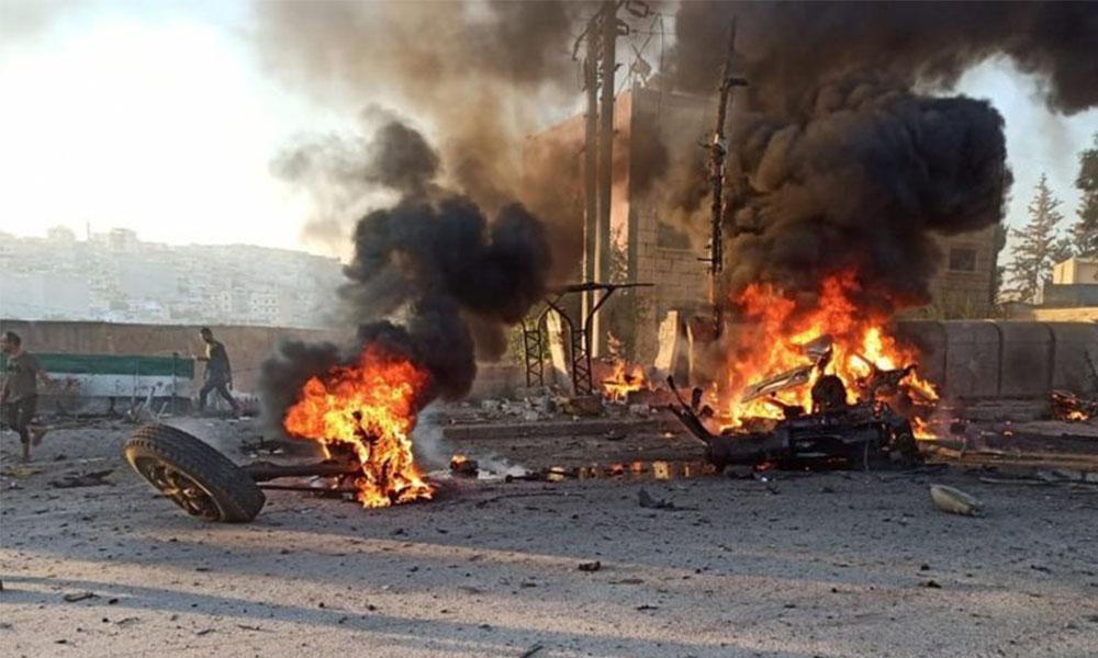 Afrin'de patlama: 9 ölü 43 yaralı