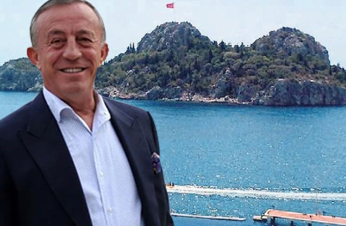 AKP iktidarının zengini Ali Ağaoğlu adasını satışa çıkardı!