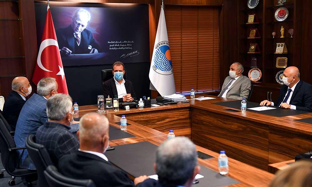 Başkan Seçer Ahilik haftası kutlamaları kapsamında esnaf temsilcilerini ağırladı