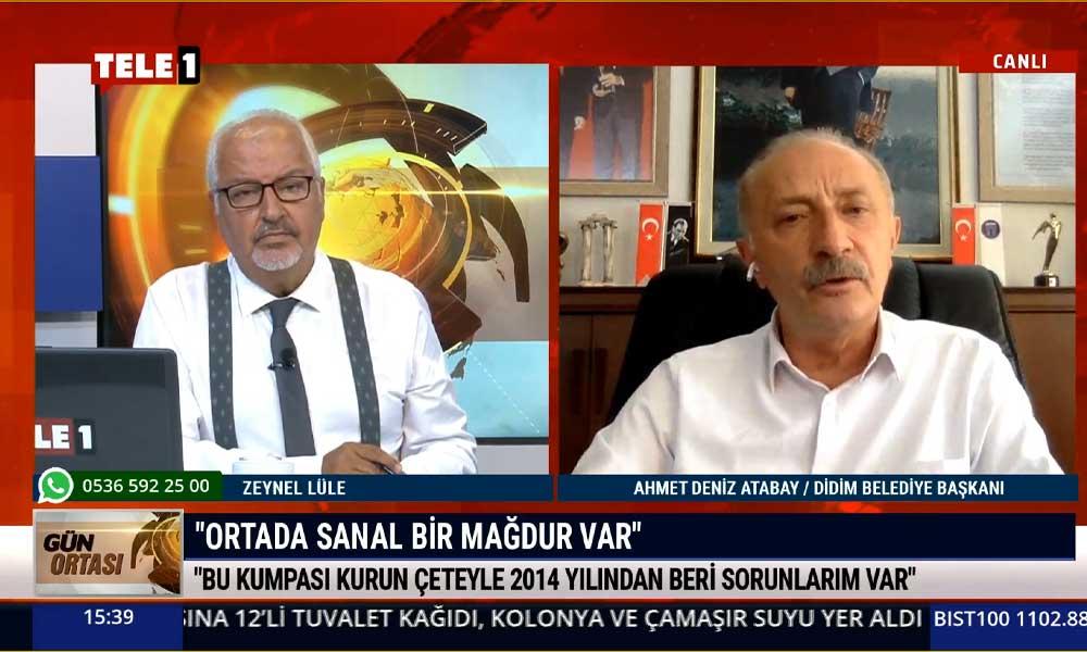 Didim Belediye Başkanı Atabay: Bu kumpası kuran çeteyle 2014 yılından beri gelen bir mücadelem var