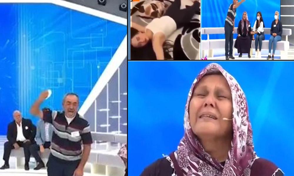 Aleyna Çakır'ın ailesi canlı yayında sinir krizi geçirdi
