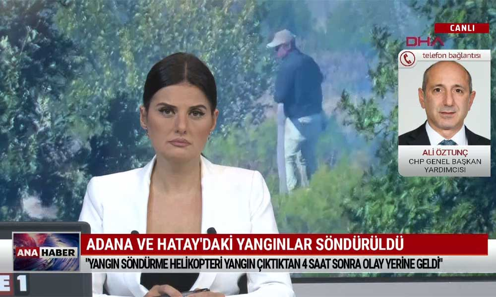 CHP Genel Başkan Yardımcısı Ali Öztunç: AKP iktidarı yangın söndürmede bile partizanlık yapıyor