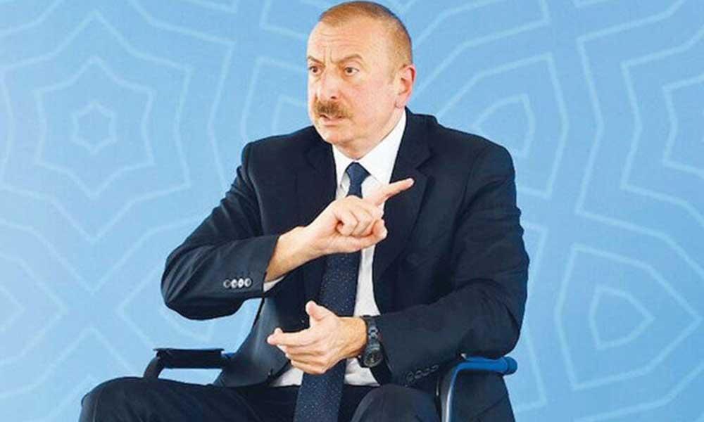 İlham Aliyev: Askeri araçlarını imha ettik