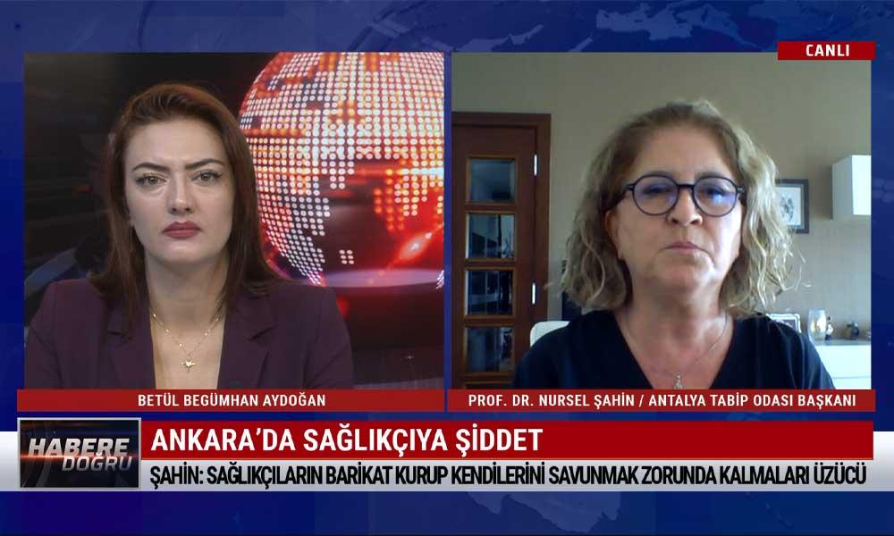 """""""Antalya'da günlük 500 vaka var, yoğun bakım yüzde 100 dolu"""""""