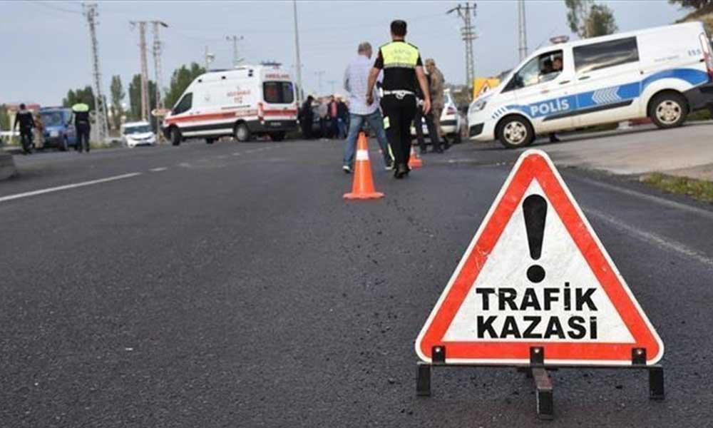 Trafik kazası geçiren uzman çavuş hayatını kaybetti