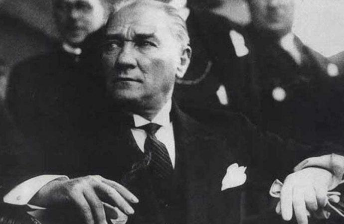 Atatürk'ün hiç görülmemiş bir fotoğrafı ortaya çıktı