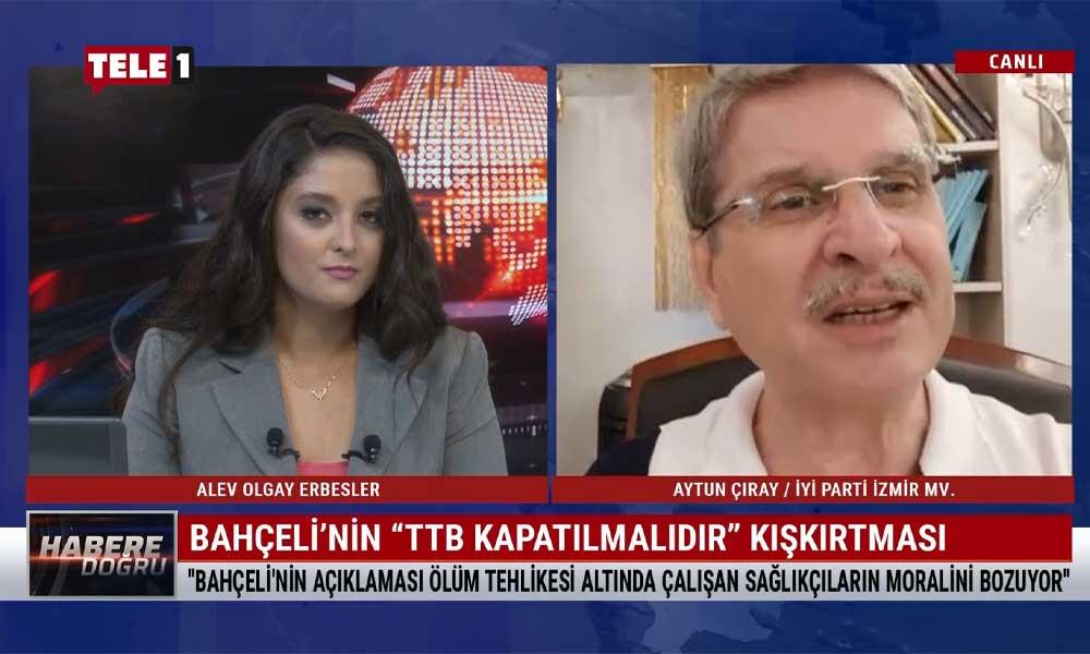 Aytun Çıray: Kim olursak olalım bir gün gelir bağırıp çağırdığımız doktorun masasına yatarız