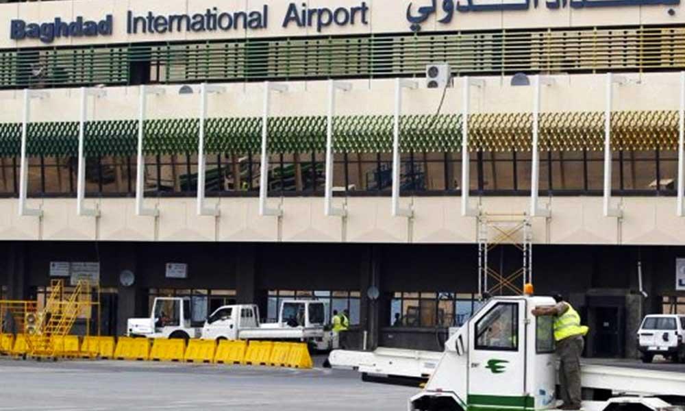 Bağdat Havalimanı'na roketli saldırı! Çok sayıda ölü ve yaralı var